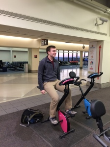 Airport Spin Class